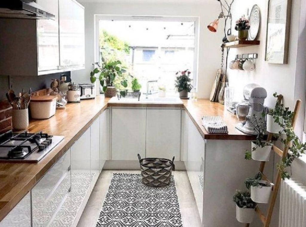 Desain Area Dapur Rumah Type 36