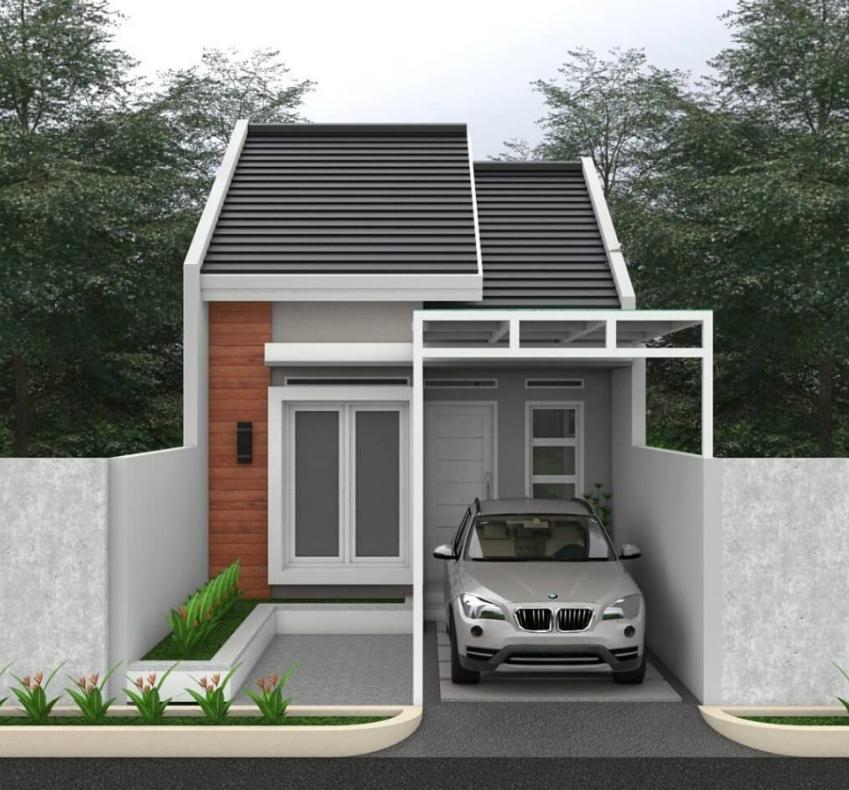 Desain Area Luar Rumah Type 36