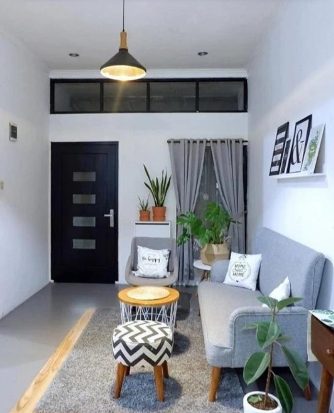 Desain Area Ruang Tamu Rumah Type 36