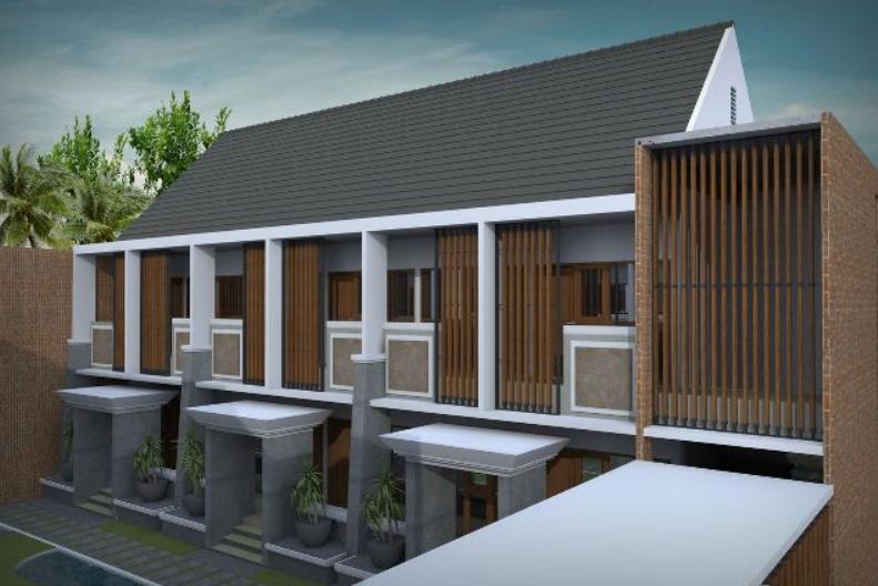 Desain Rumah Kost Minimalis 2 Lantai 10 Kamar