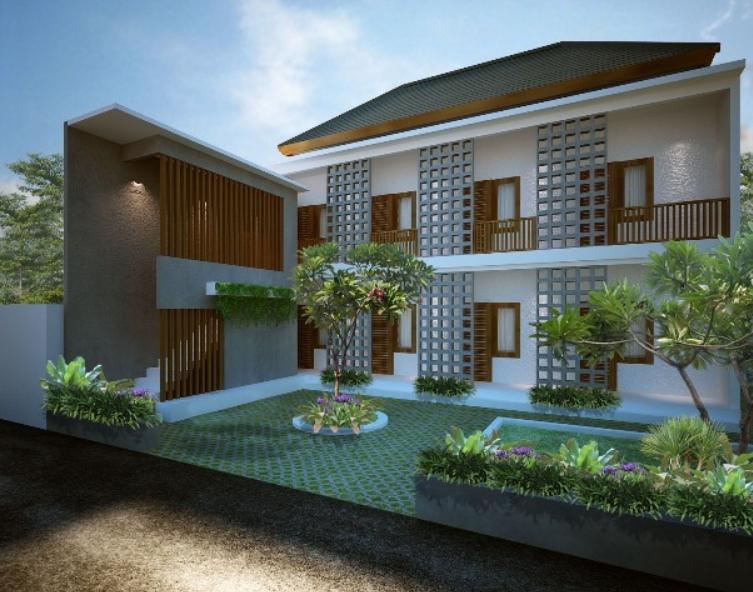 Desain Rumah Kost Minimalis 2 Lantai Mewah