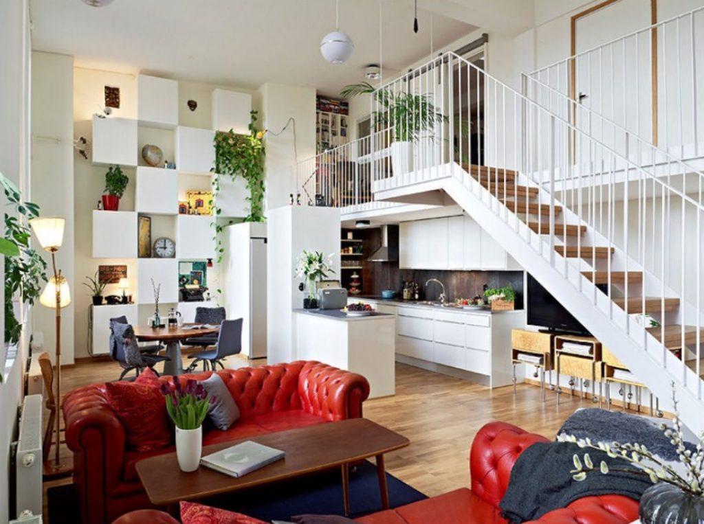 Desain Rumah Minimalis 2 Lantai dengan 2 Ruang Keluarga
