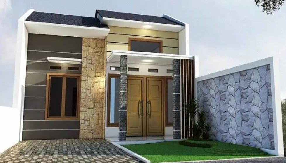 Desain Rumah Minimalis Type 36 Elegan