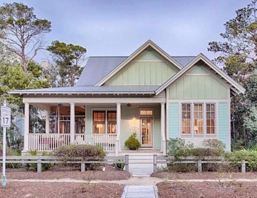 Desain Rumah Modern Cottage