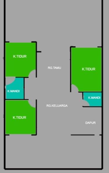 Denah Rumah Shafia Regency