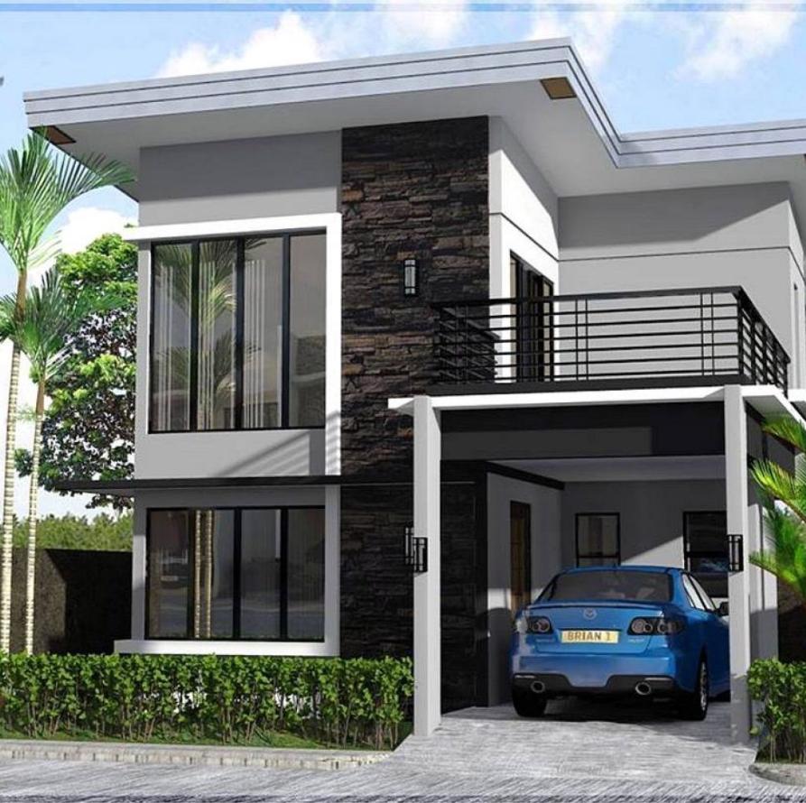 Desain Rumah Berukuran 6x9 Townhouse