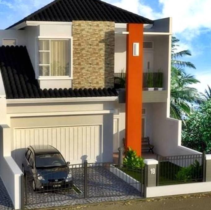 Desain Rumah dengan 2 Lantai 45