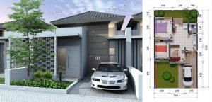 Harga Rumah Type 45 di Pekanbaru