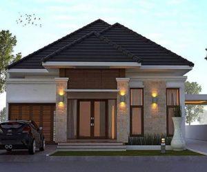 Rumah Bulatan Dijual di Pekanbaru