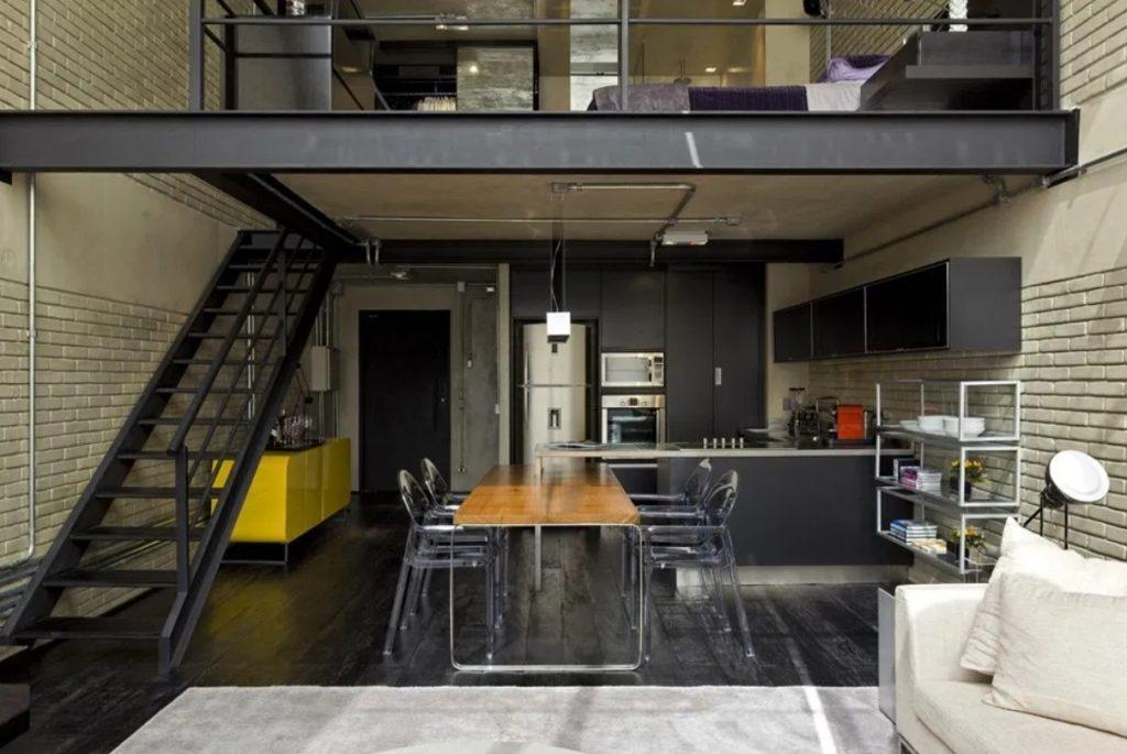 Rumah Industrial Modern