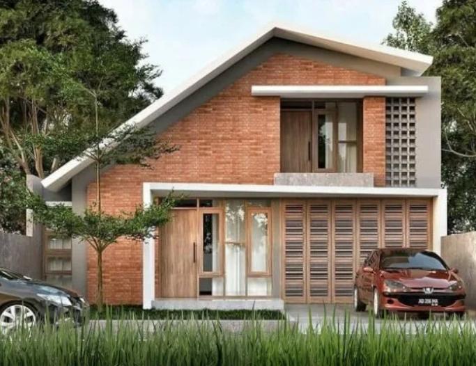 Rumah Minimalis Material Bata