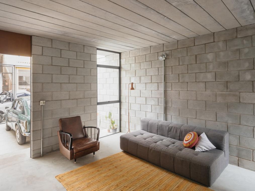 Rumah Minimalis Material Batako