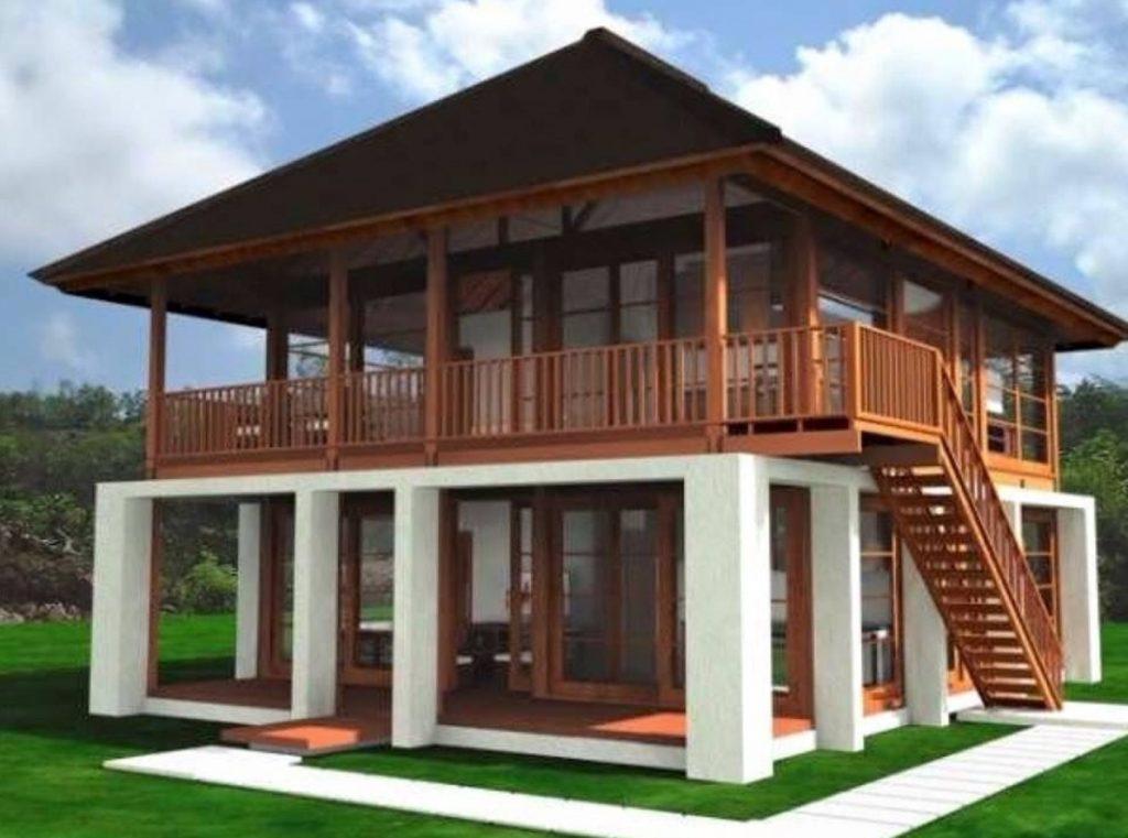 Rumah Sederhana Desain Kayu