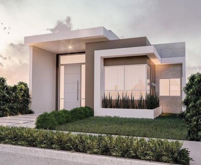 Rumah Sederhana Flat Roof