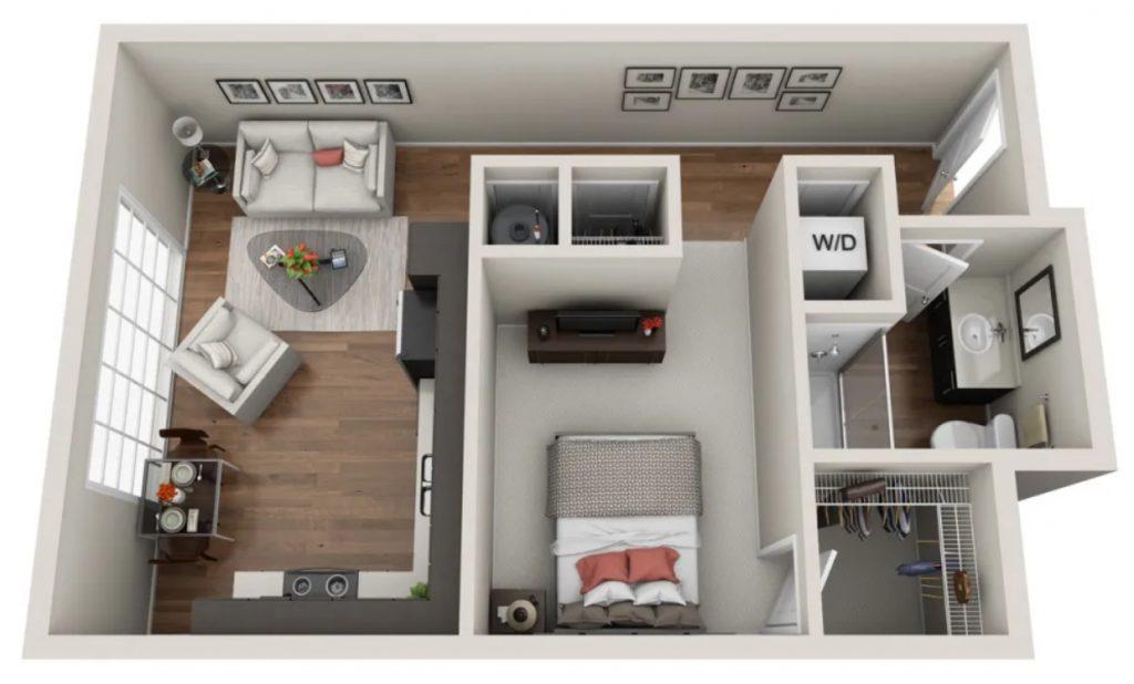 Rumah Sederhana Type 21 2 Lantai