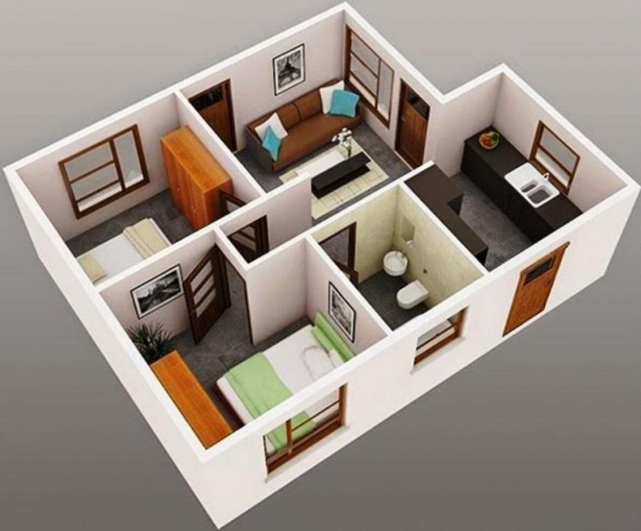 Rumah Sederhana Type 36 yang Terlihat Luas